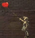 Straßenmalerei Lizenzfreies Stockbild