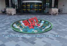 Straßenmalerei in 3D Stockbilder