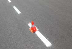 Straßenmarkierung Lizenzfreie Stockfotografie