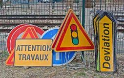 Straßenmarkierungen Lizenzfreie Stockfotos