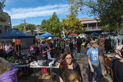 Straßenmarkt- Stockfotografie