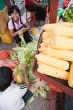 Straßenmarkt Stockbild