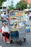 Straßenmarkt- in Ho Chi Minh City in Vietnam lizenzfreie stockbilder