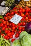 Straßenmarkt in Spanien Stockfotografie