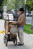Straßenmusik Lizenzfreie Stockfotografie