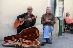 Straßenmusik Stockfoto
