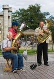 Straßenmusiker Lizenzfreie Stockfotografie