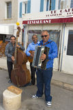 Straßenmusiker Lizenzfreie Stockfotos
