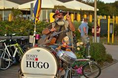 Straßenmusiker Stockbild