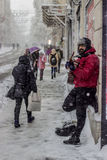 Straßenmusiker in Istanbul Lizenzfreie Stockbilder