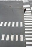 Straßenmuster Stockbild