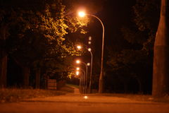 Straßennacht Lizenzfreies Stockbild