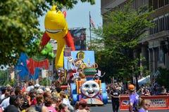 Straßenparade 2014 Indianapolis 500 Stockbild