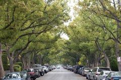 Straßenparken Stockbilder