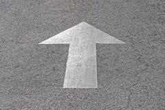 Straßenpfeil Stockfoto