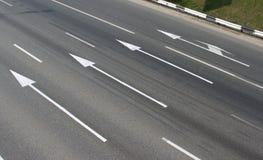 Straßenpfeile 1 Lizenzfreie Stockfotos