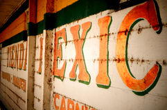 Straßenrand-mexikanischer Speicher lizenzfreie stockfotografie