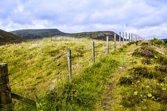 Straßenrand Schottlands A9 lizenzfreies stockbild
