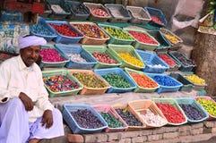 Straßenrandverkäufer Lizenzfreies Stockfoto
