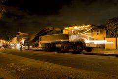 Straßenrekonstruktion stockfotografie