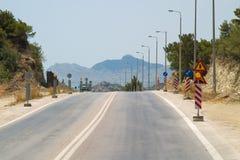 Straßenreparatur Lizenzfreies Stockbild