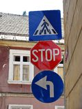 Straßenschilder Lizenzfreie Stockbilder