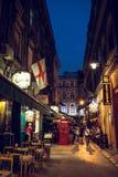 Straßensommerleben in Sarajevo Stockfotografie