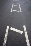 Straßensparren Stockfotografie