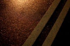 Straßenstraßen- oder -asphaltbeschaffenheit Stockfotografie