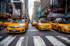 Straßenszene in New York stockbild