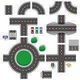 Straßenteile vektor abbildung
