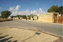 Straßentransport n die Insel von Malta Lizenzfreie Stockbilder