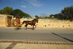 Straßentransport n die Insel von Malta Stockbild