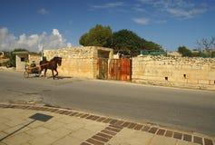 Straßentransport n die Insel von Malta Stockfoto