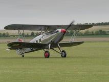 Straßenverkäufer Fury Biplane Lizenzfreies Stockfoto