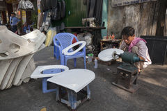 Straßenverkäufer in Vietnam Lizenzfreies Stockbild
