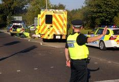 Straßenverkehrsunfall Lizenzfreies Stockbild