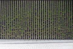 Straßenwandhintergrund, industrielles bakcground keramische Ziegelstein-Fliesenwand, nahtlose Backsteinmauer Lizenzfreie Stockfotografie