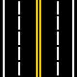 Straßenwege vektor abbildung