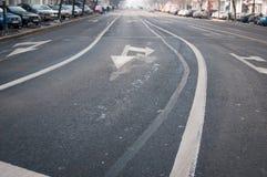 Straßenwege Stockfoto