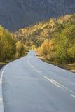 Straßenwicklung in moutain Lizenzfreies Stockfoto