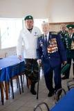 Straż Graniczna dzień w Cherkassy Fotografia Royalty Free