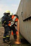 strażacy Zdjęcia Stock