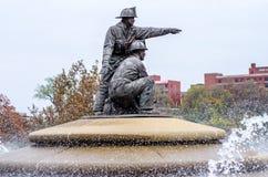 Strażak fontanna zdjęcia stock