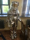 Strażaka kostium TOK zdjęcie stock