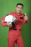 strażaka mężczyzna Fotografia Royalty Free