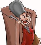strażnik anglikiem. ilustracja wektor