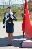 Strażnik honor Zdjęcia Royalty Free
