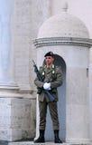 Strażnik honor w Rzym zdjęcie royalty free