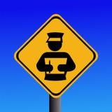 strażnika schowka znak Zdjęcie Royalty Free